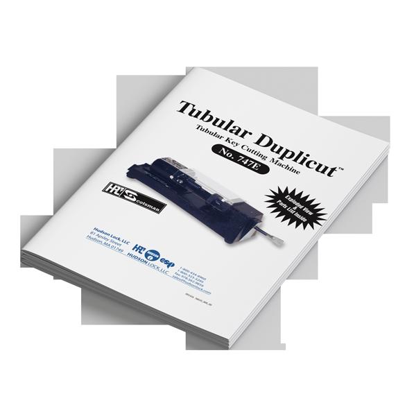 Tubular Duplicut™ key duplicator manual