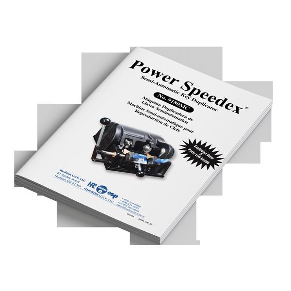 Power Speedex key duplicator manual