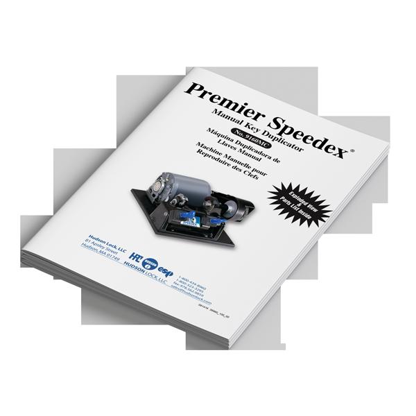 Premier Speedex Manual key duplicator