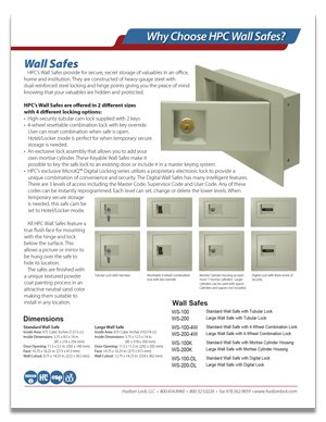 Wall Safe more information